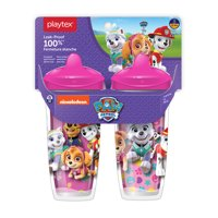 Playtex Sipsters Stage 3 Paw Patrol Girls Insulated Sippy Cup, 9 Oz, 2 Pk