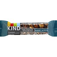 KIND Bar, Dark Chocolate Nuts & Sea Salt