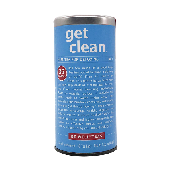 The republic of tea Be Well Rooibos Get Clean Tea, 1.65 oz
