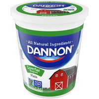 Brand Dannon Dannon Lowfat Non-GMO Project Verified Plain Yogurt