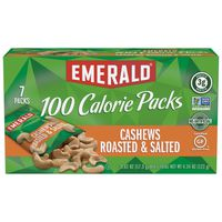 Emerald Cove 100 Calories Packs Halves & Pieces Cashews