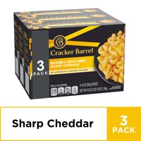 Cracker Barrel Sharp Cheddar Macaroni & Cheese 3 - 14 oz Boxes