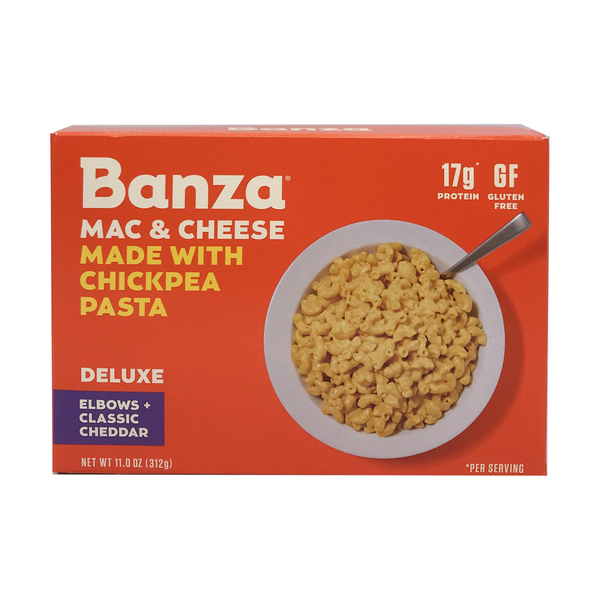 Banza Deluxe Elbows & Cheddar Mac & Cheese, 11 oz
