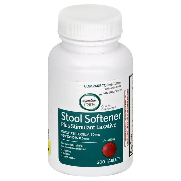 Signature Home Stool Softener