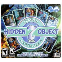 Classic Mysteries 4 Hidden Object Games (PC DVD), 7 Pack