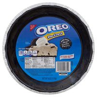 Oreo Pie Crust, Ready To Bake, 1 Count