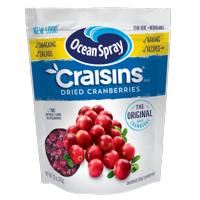 Ocean Spray Craisins Gluten-Free Original Dried Cranberries, 12 Oz.