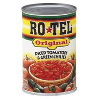Ro-Tel Tomatoes With Green Chilis