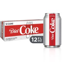 Diet Coke Soda, 12 Fl Oz, 12 Count