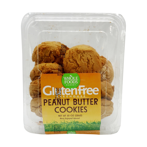 Whole foods market™ Bakehouse Peanut Butter Cookies, 10 oz