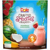 DOLE Crafted Smoothie Blends™ Strawberry Watermelon 40 oz (5-8 oz. Pouches)