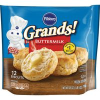 Pillsbury Frozen Dough, Buttermilk Biscuits
