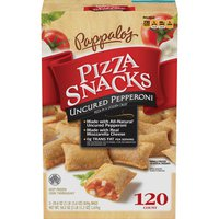 Pappalo's Uncured Pepperoni Pizza Snacks, 2 x 29.6 oz