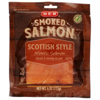 H-E-B Scottish Style Smoked Salmon