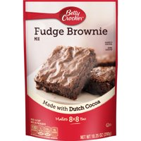 Betty Crocker Fudge Brownie Mix, 10.25 oz