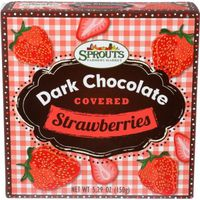 Sprouts Dark Chocolate Covered Strawberries