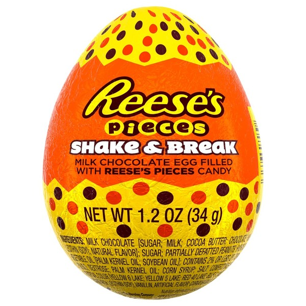 Reese's Milk Chocolate Egg, Shake & Break