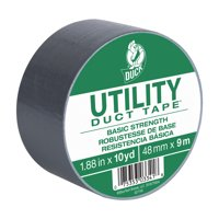 """Duck Brand 1.88""""x10 Yd. Utility Duct Tape, Silver"""