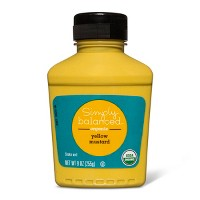 Organic Yellow Mustard 9oz - Simply Balanced™