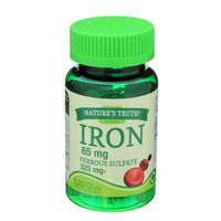 Nature's Truth Organic Natures Truth Iron