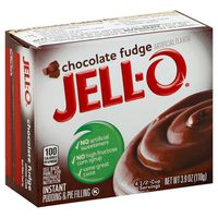 Jell-O Chocolate Fudge Instant Pudding & Pie Filling