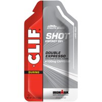 CLIF SHOT - Energy Gels - Double Expresso Flavor - 100mg Caffeine - 1.2 oz. Packet - 1 count (Packaging May Vary)