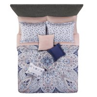 Mainstays Gypsy Medallion 8-10 Piece Bed in a Bag Bedding Set w/BONUS Sheet Set + Pillows