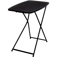 "Mainstays 26"" Adjustable Height Personal Folding Table, Black - Pick Up Today Only"