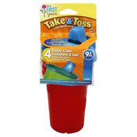 The First Years Take & Toss Sippy Cups 9+m