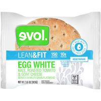 Evol Foods Lean & Fit Egg White Flatbread Sandwich