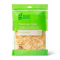 Shredded Mexican-Style Cheese - 8oz - Good & Gather™