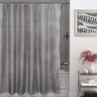Mainstays Henderson Fabric Shower Curtain, 1 Each
