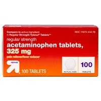 Acetaminophen Regular Strength Pain Reliever & Fever Reducer Tablets - Up&Up™