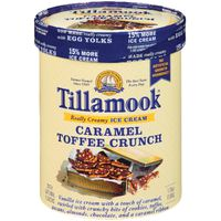 Tillamook Caramel Toffee Crunch Ice Cream
