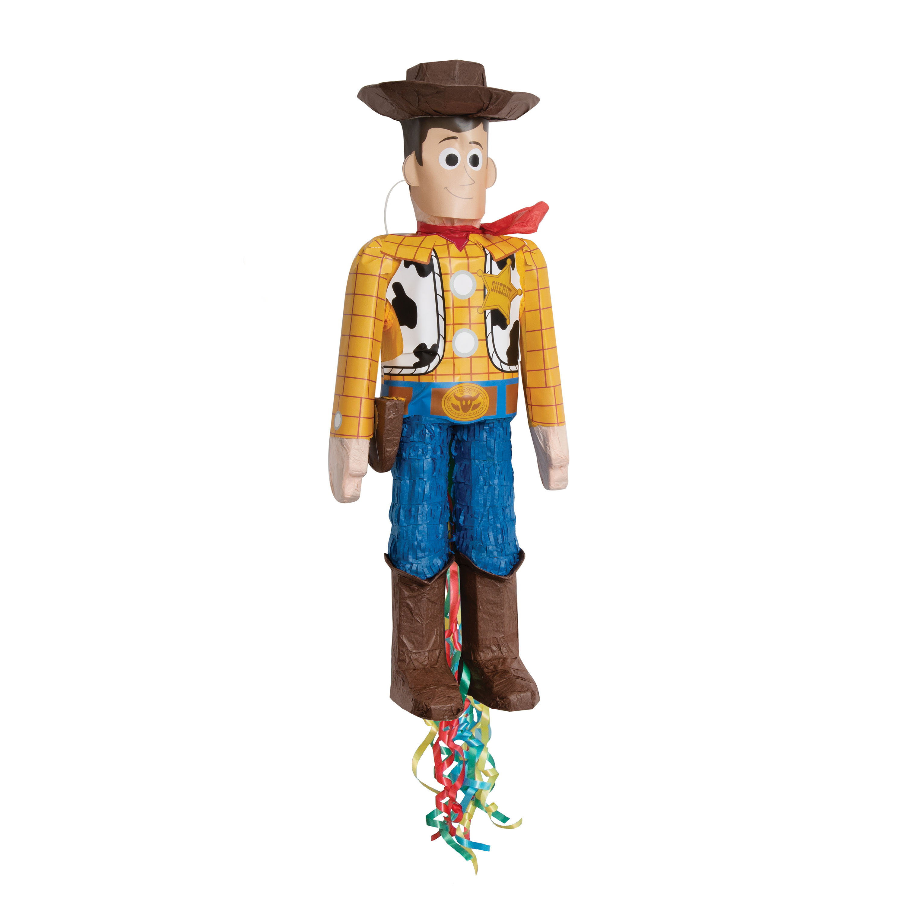 Woody Toy Story Pinata, Pull String, 25.5 x 8in