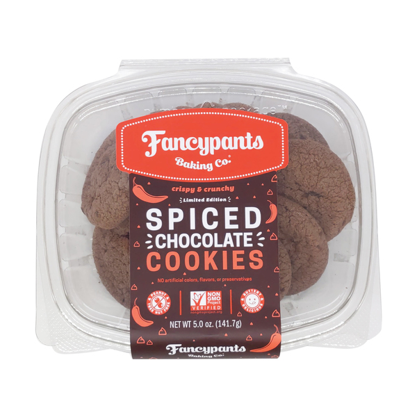 Fancypants bakery Spiced Chocolate Crunch Cookies, 5 oz