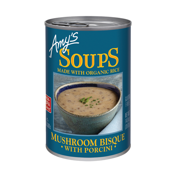 Amy's kitchen Mushroom Bisque With Porcini, 14 oz