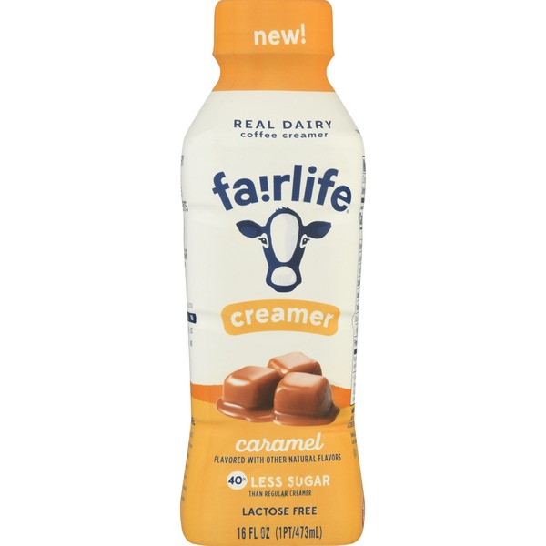 Fairlife Caramel Coffee Creamer