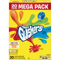 Gushers, Strawberry Splash and Tropical, 20 ct, 0.8 oz