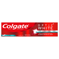 Colgate Optic White Whitening Toothpaste, Enamel - 3.5 oz