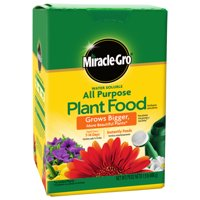 Miracle-Gro Water Soluble All Purpose Plant Food, 1.5 lbs., Safe For All Plants