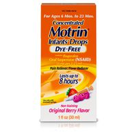 Motrin Childrens Concentrated Drops, Dye-Free
