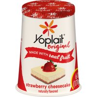 Yoplait Original Yogurt Strawberry Cheesecake, 6 oz