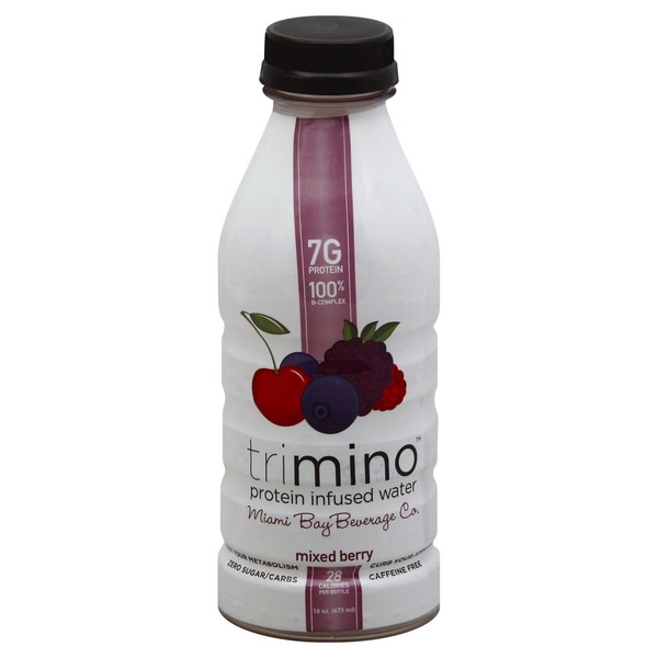 Trimino Protein Infused Water Mixed Berry