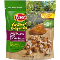 Tyson Grilled And Ready ® Grilled & Ready® Fully Cooked Oven Roasted Diced Chicken Breast