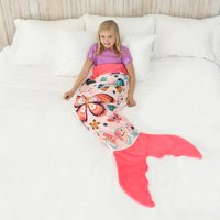 Butterfly Blankie Tail for Kids by Your Zone, Pink