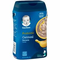 Gerber Probiotic Oatmeal & Banana Baby Cereal