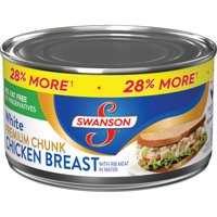 Swanson Premium White Chunk Chicken Breast, 12.5 oz Can