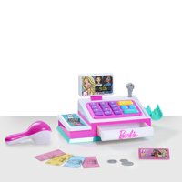 Barbie Cash Register with Sounds, 10-Pieces, Ages 3+