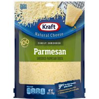 Kraft Finely Shredded Parmesan Cheese